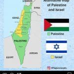 Peta Alternatif Palestina dan Israel Versi Flagsconcepts, Setuju?