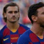 Messi dan Griezman Dikabarkan Ribut Saat Sesi Latihan Barcelona