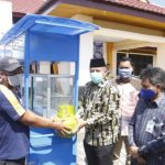 Bantuan Sembako dan Gerobak untuk Masyarakat Sungai Mandau Terdampak Covid-19