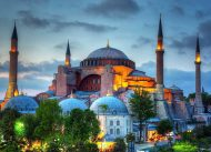 Sejarah Hagia Sophia, Pernah Terbakar Beberapa Kali