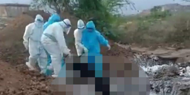 Pemakaman COVID-19 di India Tuai Kemarahan Publik