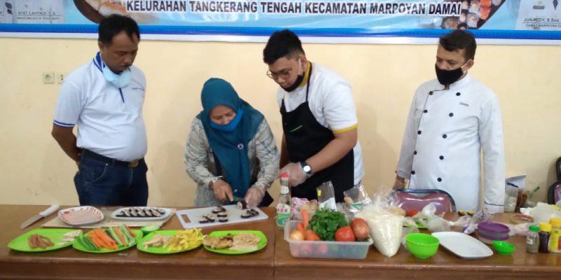 Pesonna hotel Pekanbaru Gelar Cooking Class Bersama Kelurahan Tangkerang Tengah