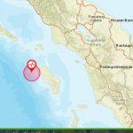Gempa 5,0 SR Guncang Nias Siang Ini