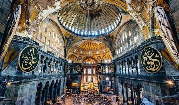 Hagia Sophia Diresmikan Jadi Mesjid
