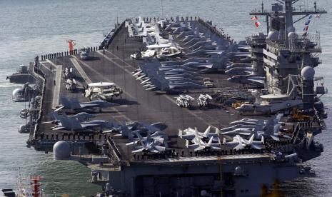 2 Kapal Induk AS Dikerahkan ke Laut China Selatan