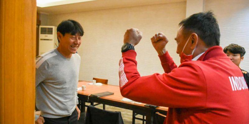 Tae-yong Hanya Pantau Latihan Timnas U-19 dari Korsel, Ketua PSSI Maklum