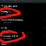 MU Menang Karena Penalti, Netizen Trendingkan Penchester United