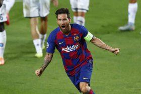 Messi Bersinar, Barcelona Lolos Perempat Final Liga Champions