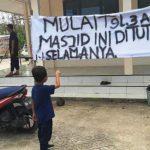 Geger, Masjid Ditutup Karena Beda Aliran