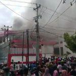Kantor Telkomsel Pekanbaru Terbakar, Seluruh Jaringan Mati