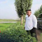 Langka, Kim Jong Un Kunjungi Lokasi Bencana