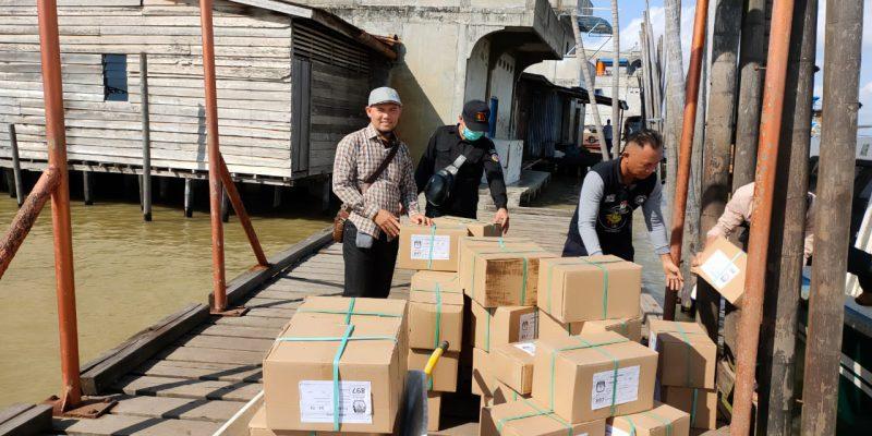 Logistik Pilkada Mulai Didistribusikan, KPU Riau Jamin Steril COVID-19
