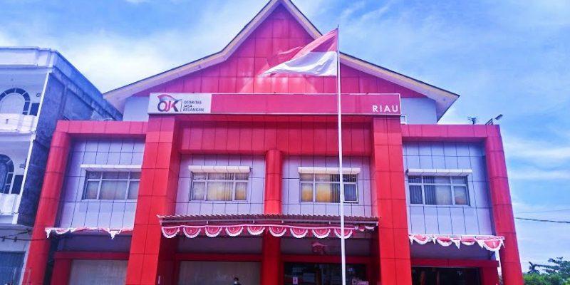 GERAK Demo Kantor OJK Riau Terkait Dugaan Kejahatan Perbankan Bank Riau Kepri