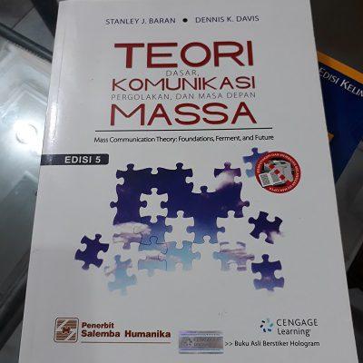 Buku Bacaan Mahasiswa Komunikasi, Mata Kuliah Teori Komunikasi Massa