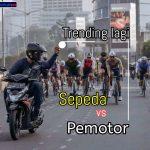 Sepeda vs Motor, Trending Lagi di Twitter