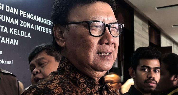 Men PANRB 'Diseret' Soal Pemecatan Puluhan Pegawai KPK, Tjahjo Kumolo: Saya Tak Tahu!
