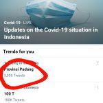 Gara-Gara Jokowi Salah Sebut, Provinsi Padang Trending Topic