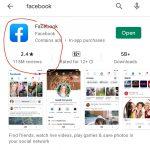 Terus Turun, Rating Facebook di Play Store Kini 2,4