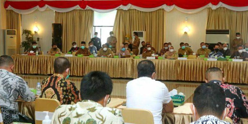 Bupati Siak Alfedri Hadiri Rapat Koordinasi Dalam Rangka Alih Kelola Blok Rokan