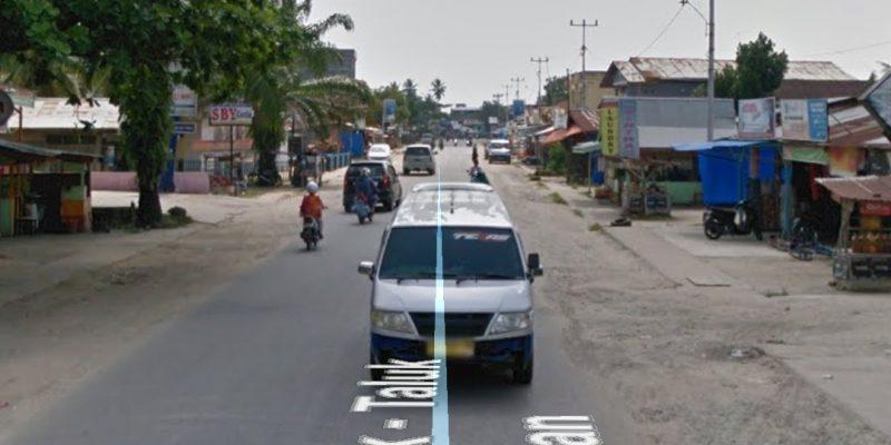 Truk akan Dilarang Lewat Jalan Sudirman Air Molek