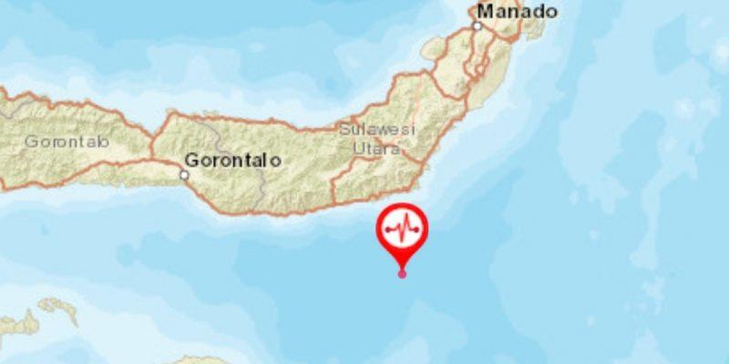Gempa 5,7 Magnitudo Guncang Sulut Pagi Ini