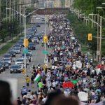 Ribuan Orang Turun ke Jalan di Kanada, Beri Dukungan Kepada Korban Islamfobia